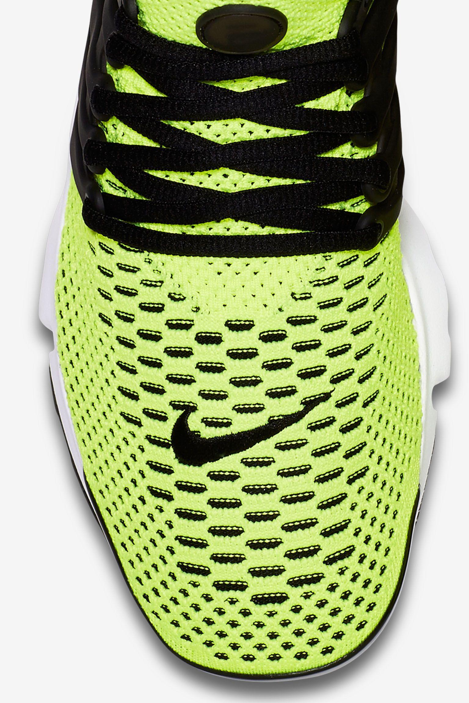 Nike Air Presto Ultra Flyknit 'Volt & Black' Release Date
