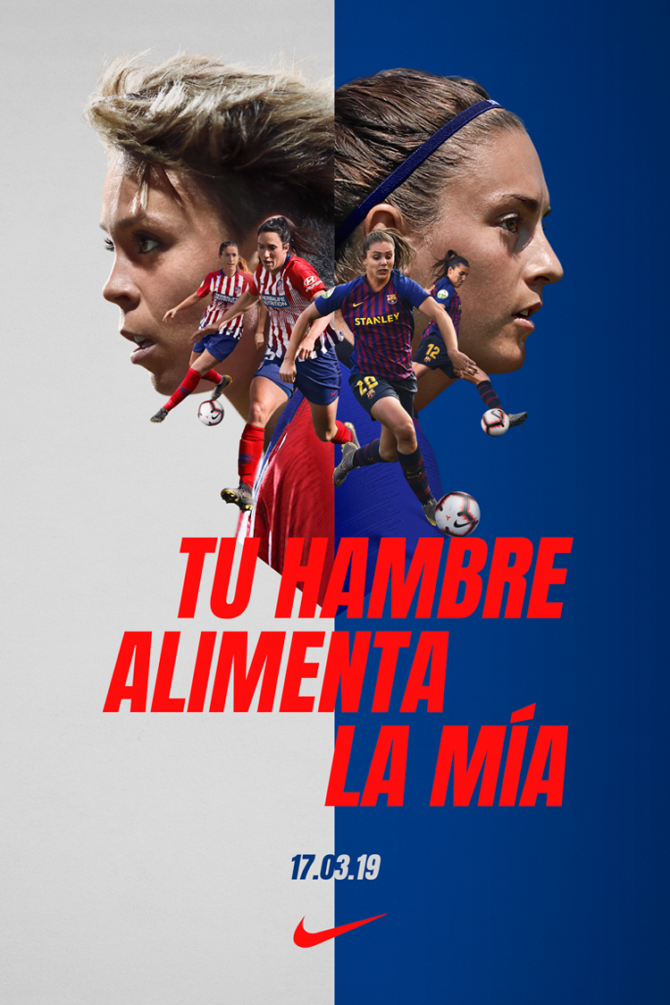 El clasico Atlético de Madrid