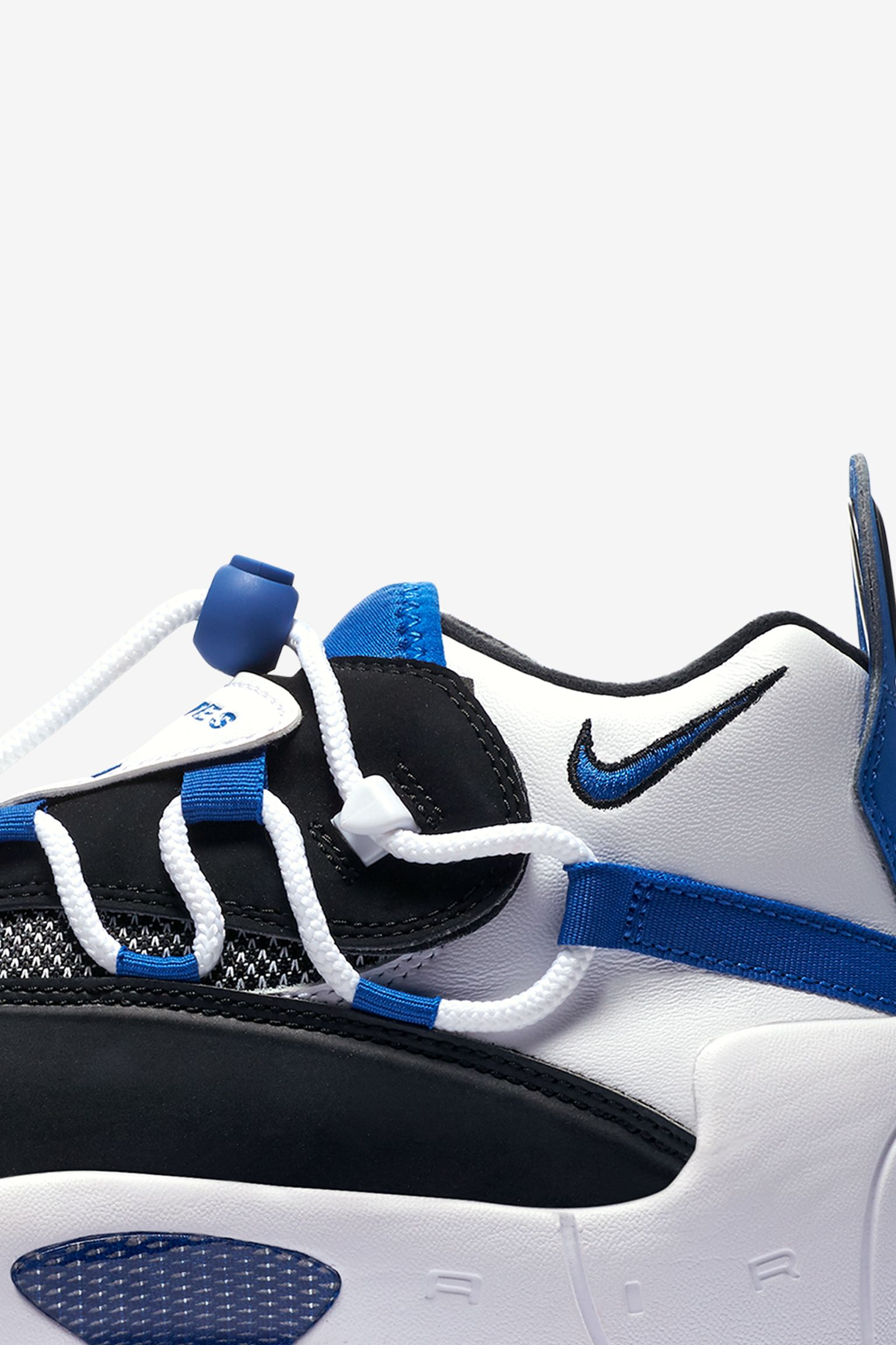 Women's Nike Air Swoopes II 'White & Black & Game Royal' Release Date
