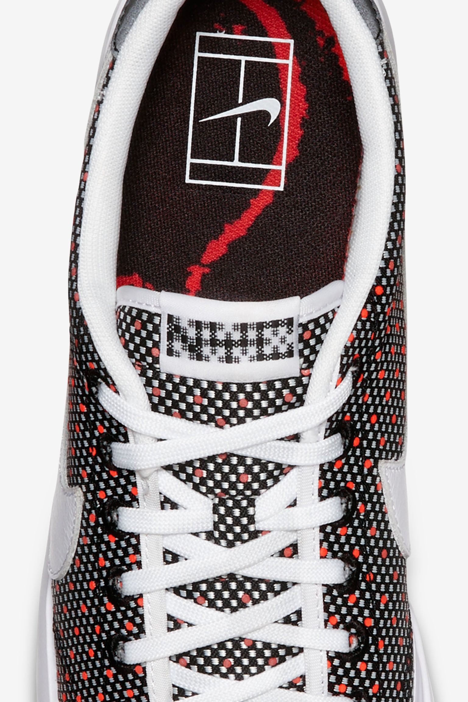 Nike All Court 2 Low Jacquard 'Black & Action Red'