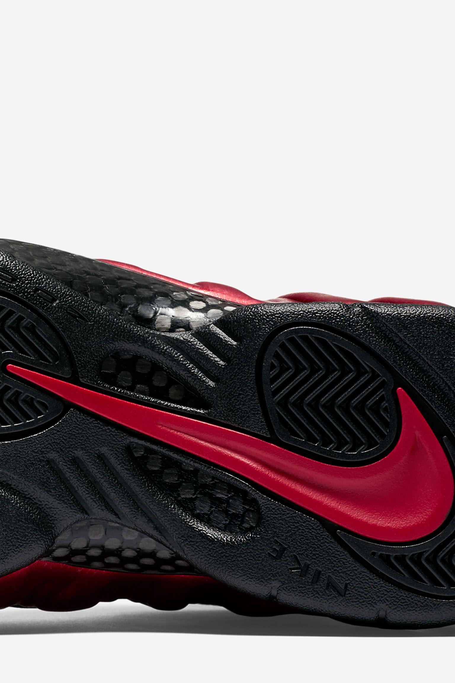 Nike Air Foamposite Pro 'University Red' Release Date