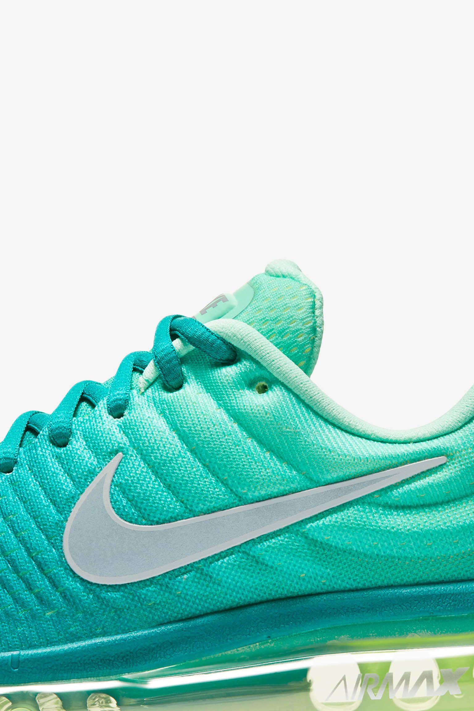 Nike Air Max 2017 'Rio Teal' til kvinder. Lanceringsdato