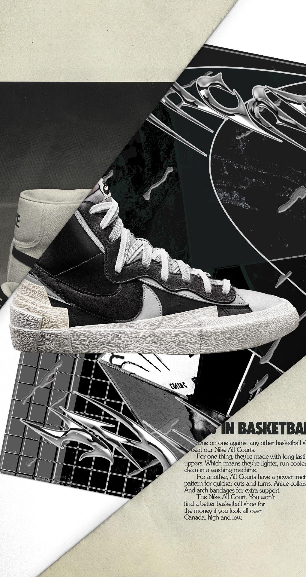best wholesaler san francisco cheapest price sacai x Nike Blazer Mid 'Black/Wolf Grey' Release Date. Nike ...