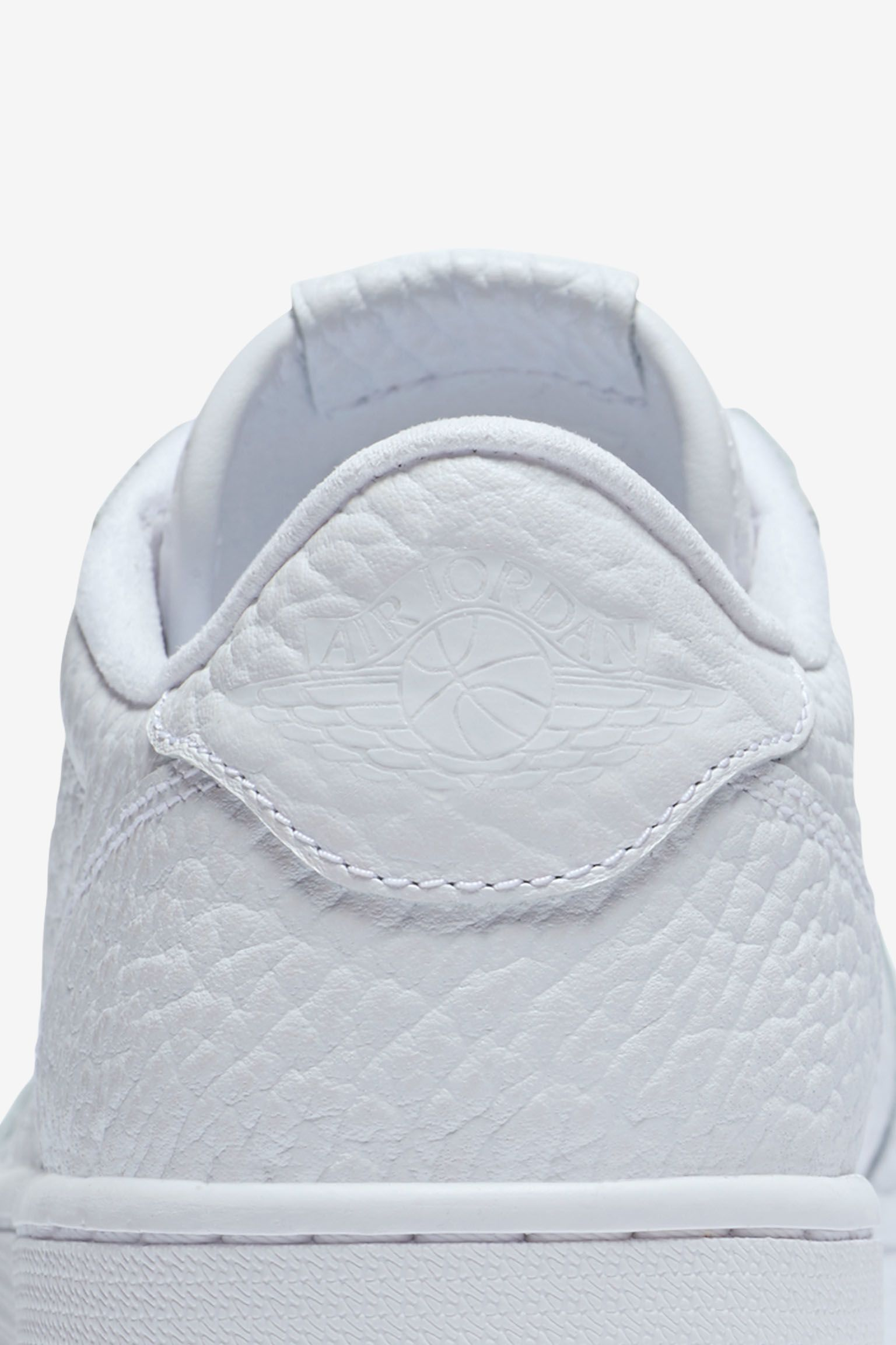 Air Jordan 1 Retro Low NS 'Triple White' Release Date