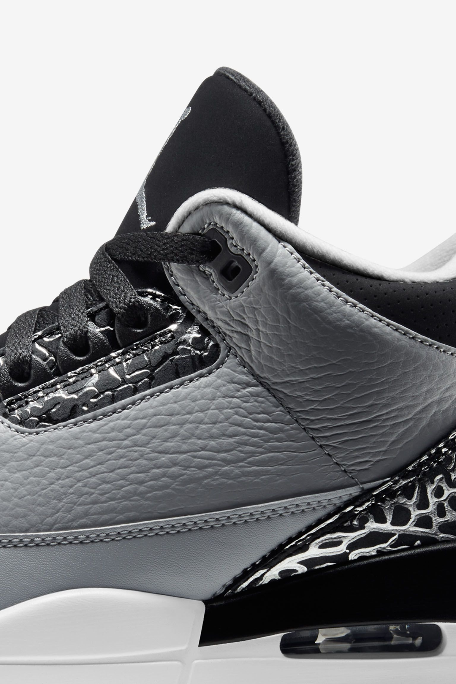 "Air Jordan 3 Retro ""Wolf Grey"". Ημερομηνία κυκλοφορίας"