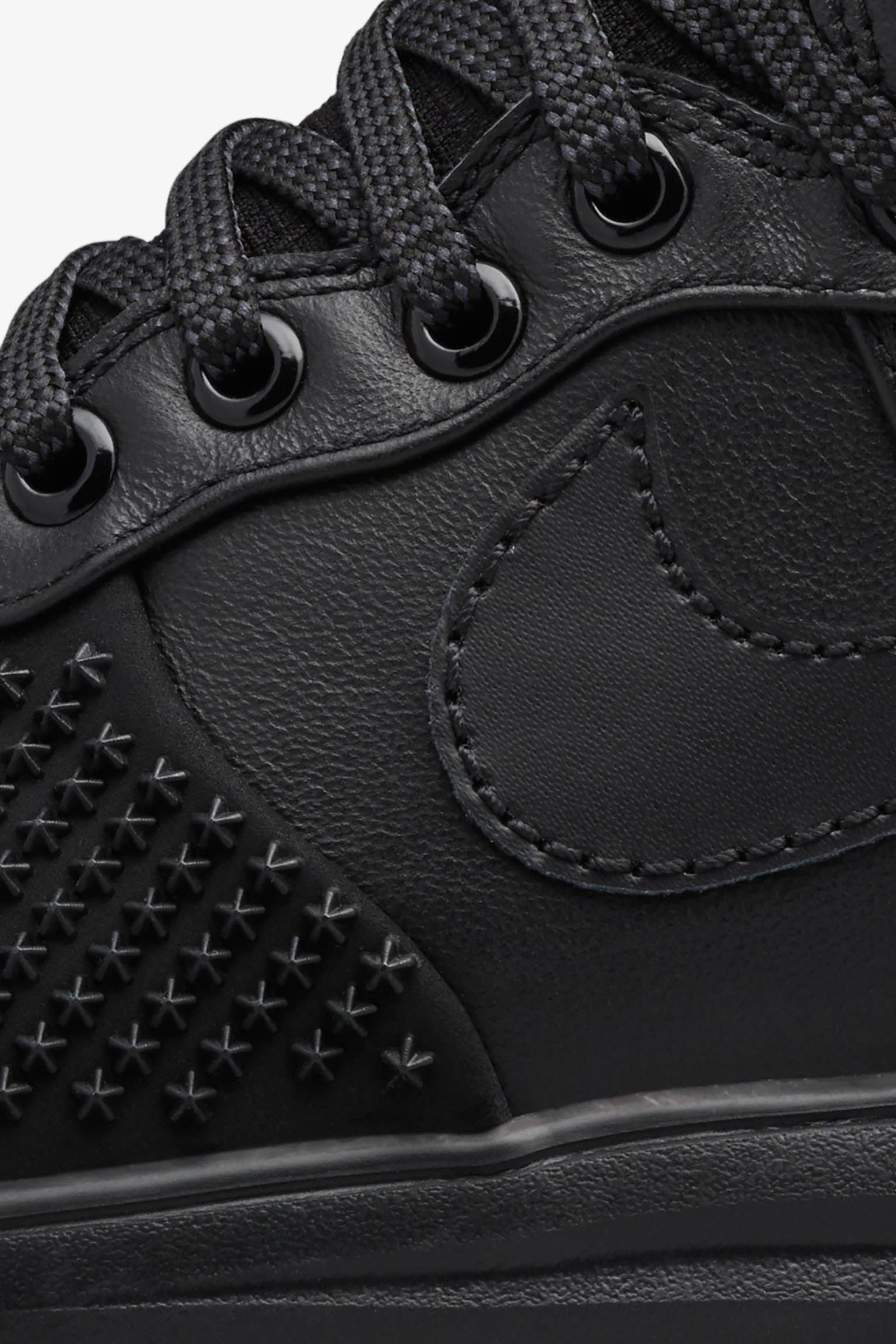 Nike Lunar Force 1 Duckboot 'Black & Gum'