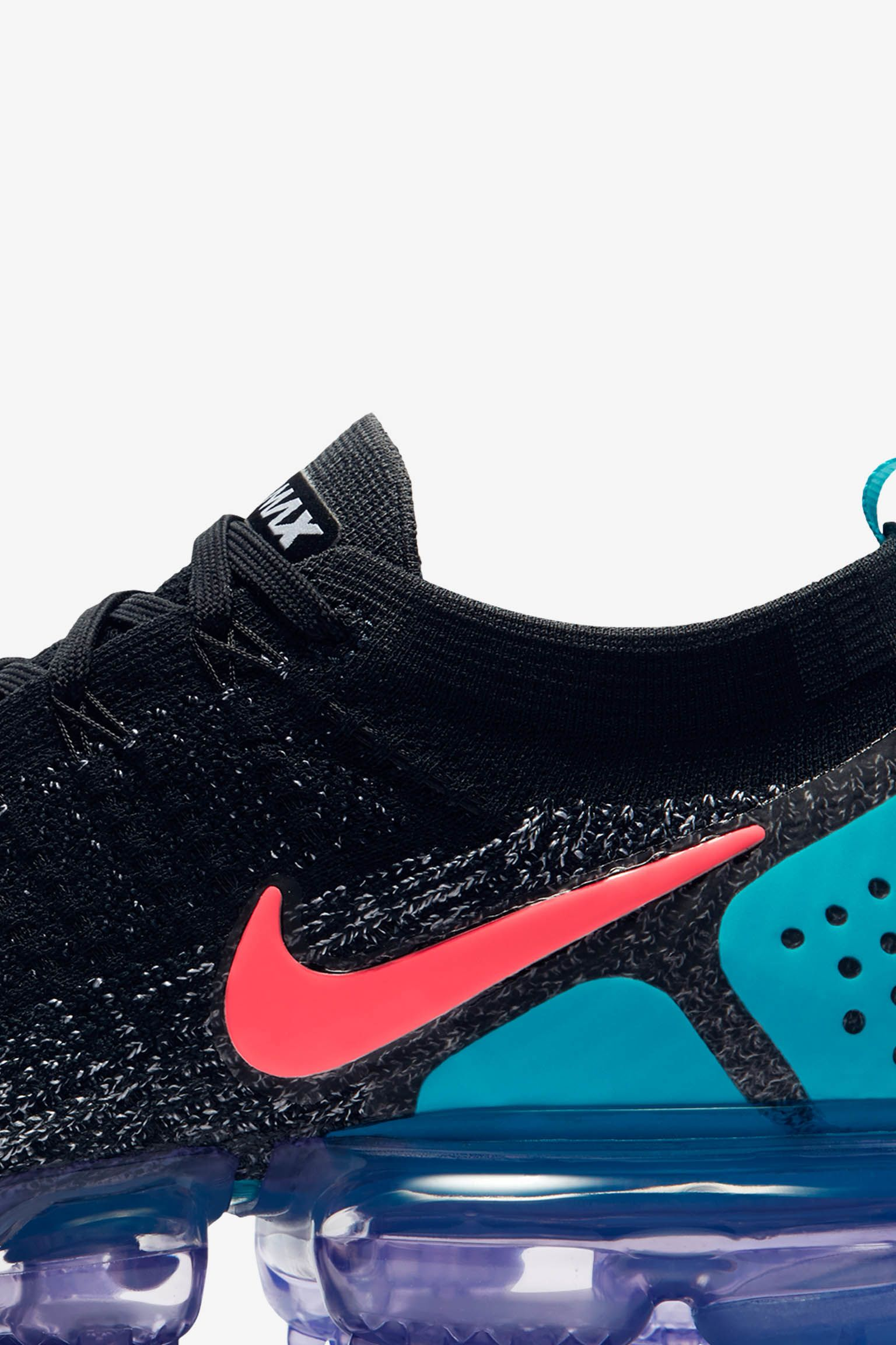 Nike Air Vapormax Flyknit 2 'Black & Hot Punch' Release Date