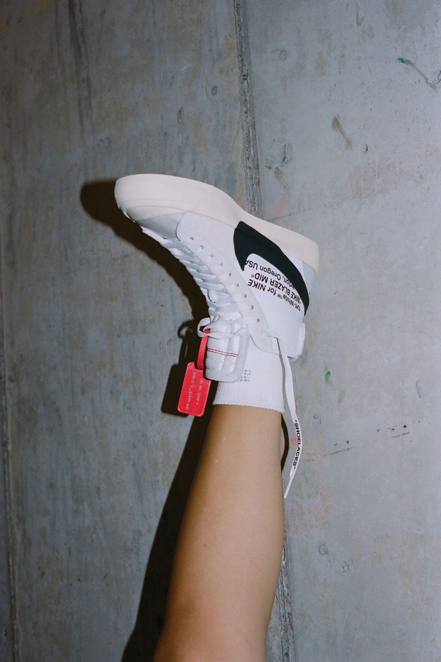 77c62da42 Nike The Ten SB Blazer Mid 'Off White' Release Date. Nike+ Launch GB