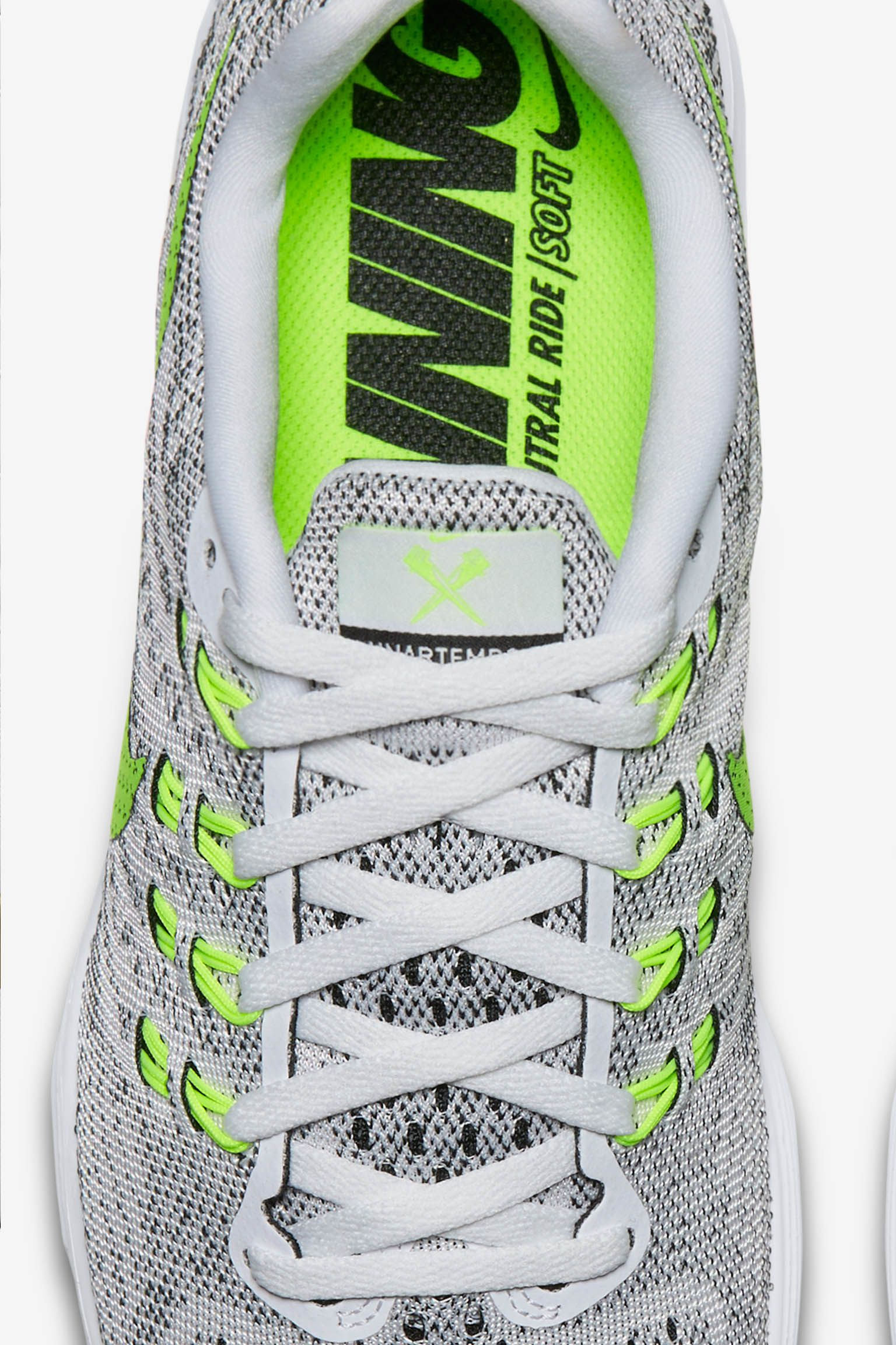 Women's Nike Lunartempo 2 'White & Volt-Black'