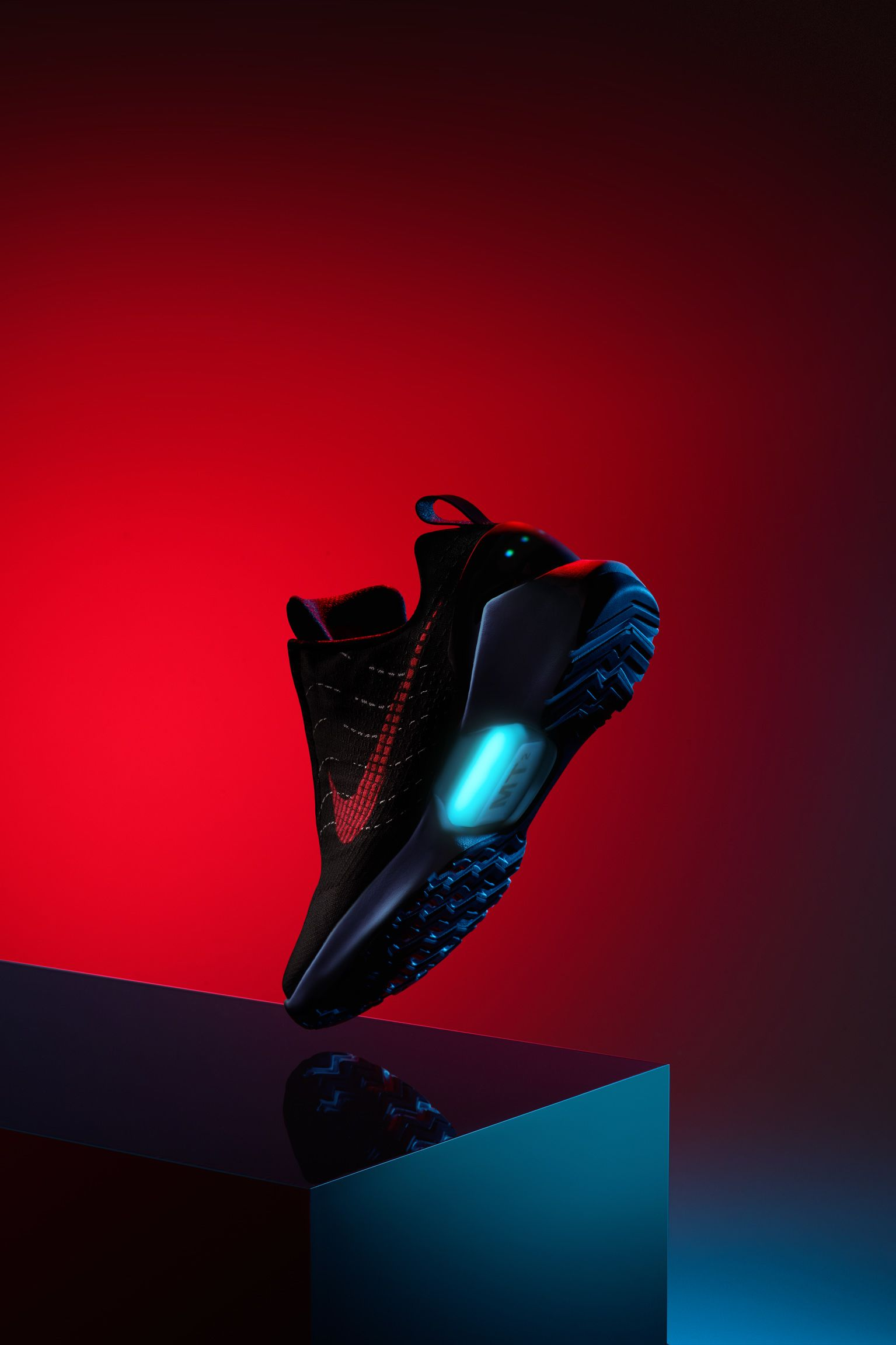 Nike HyperAdapt 1.0 'Black & University Red'. Release Date