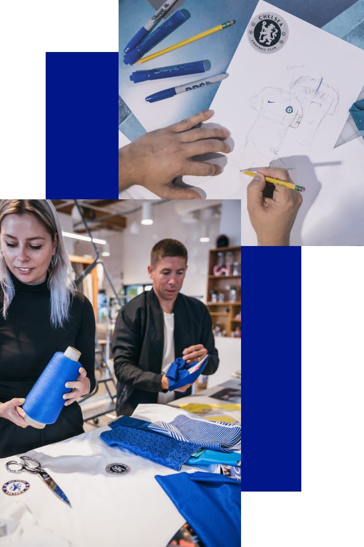 Chelsea Connect Jersey Making