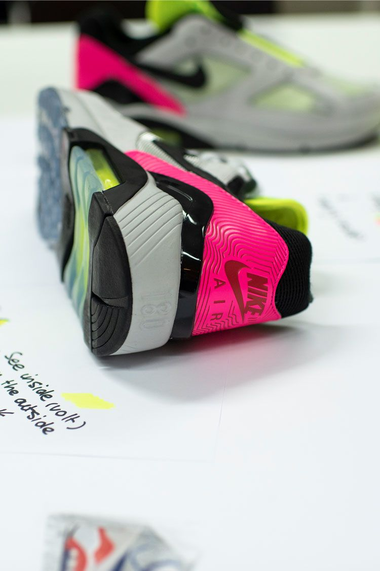 Behind The Design: Air Max 180 'Hyper Pink' Release Date