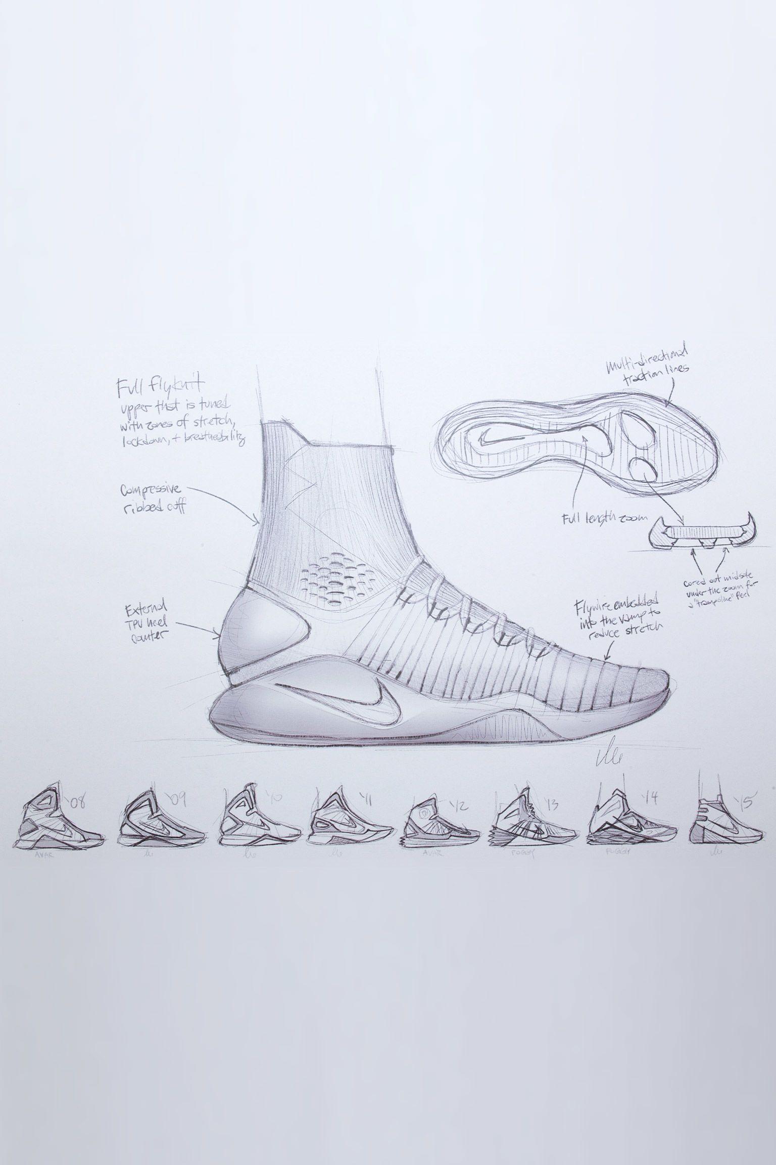 À l'origine du concept : Nike Hyperdunk 2016 Flyknit