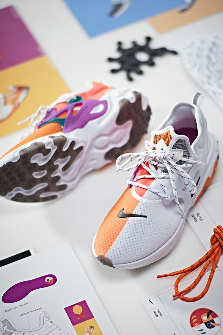【NIKE公式】デザイン誕生まで:リアクト プレスト 'Dharma'