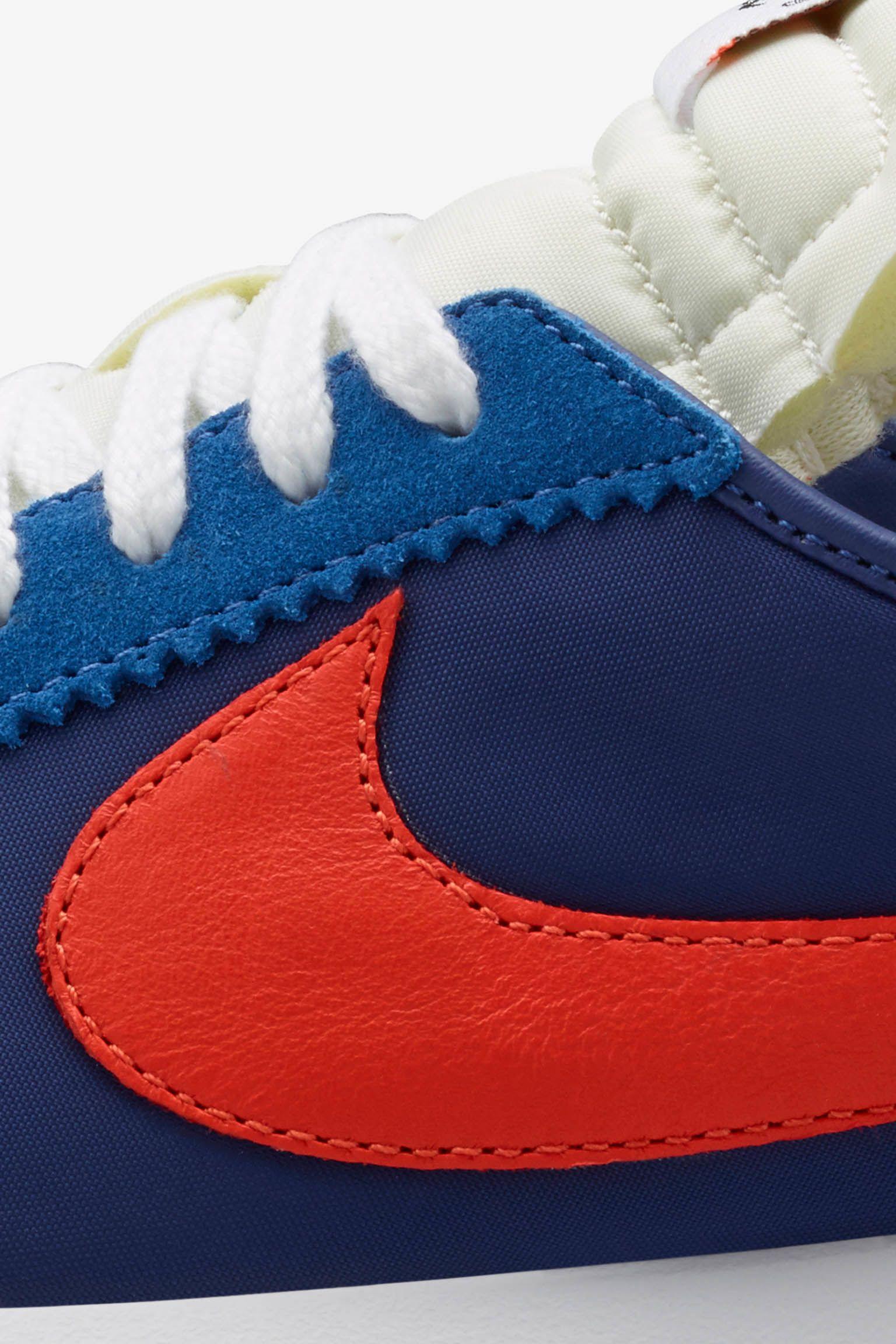 Nike Roshe Cortez 'University Blue & Safety Orange'