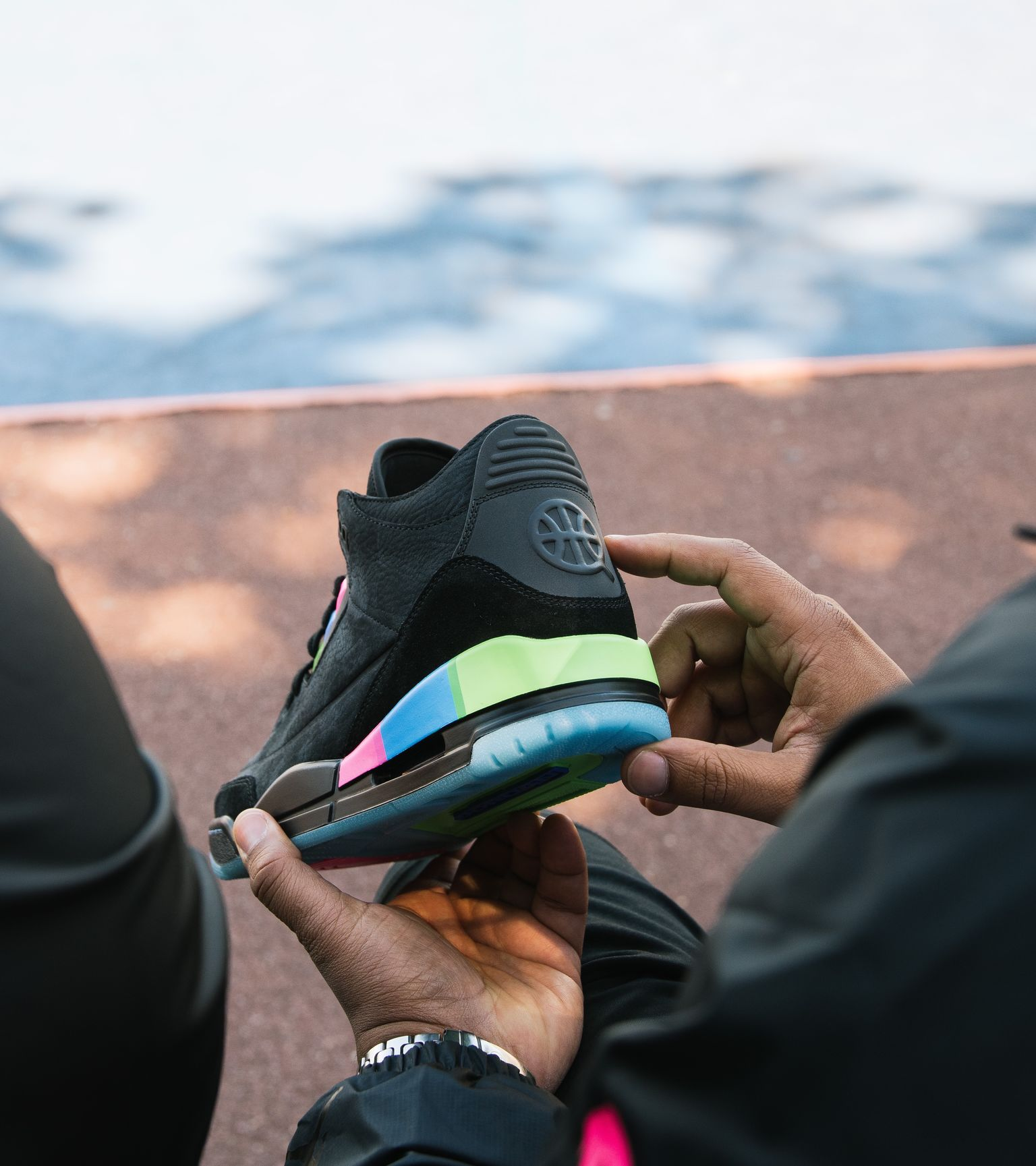 0780254f76b9df Air Jordan 3 Retro  Quai 54  Release Date. Nike+ Launch IE