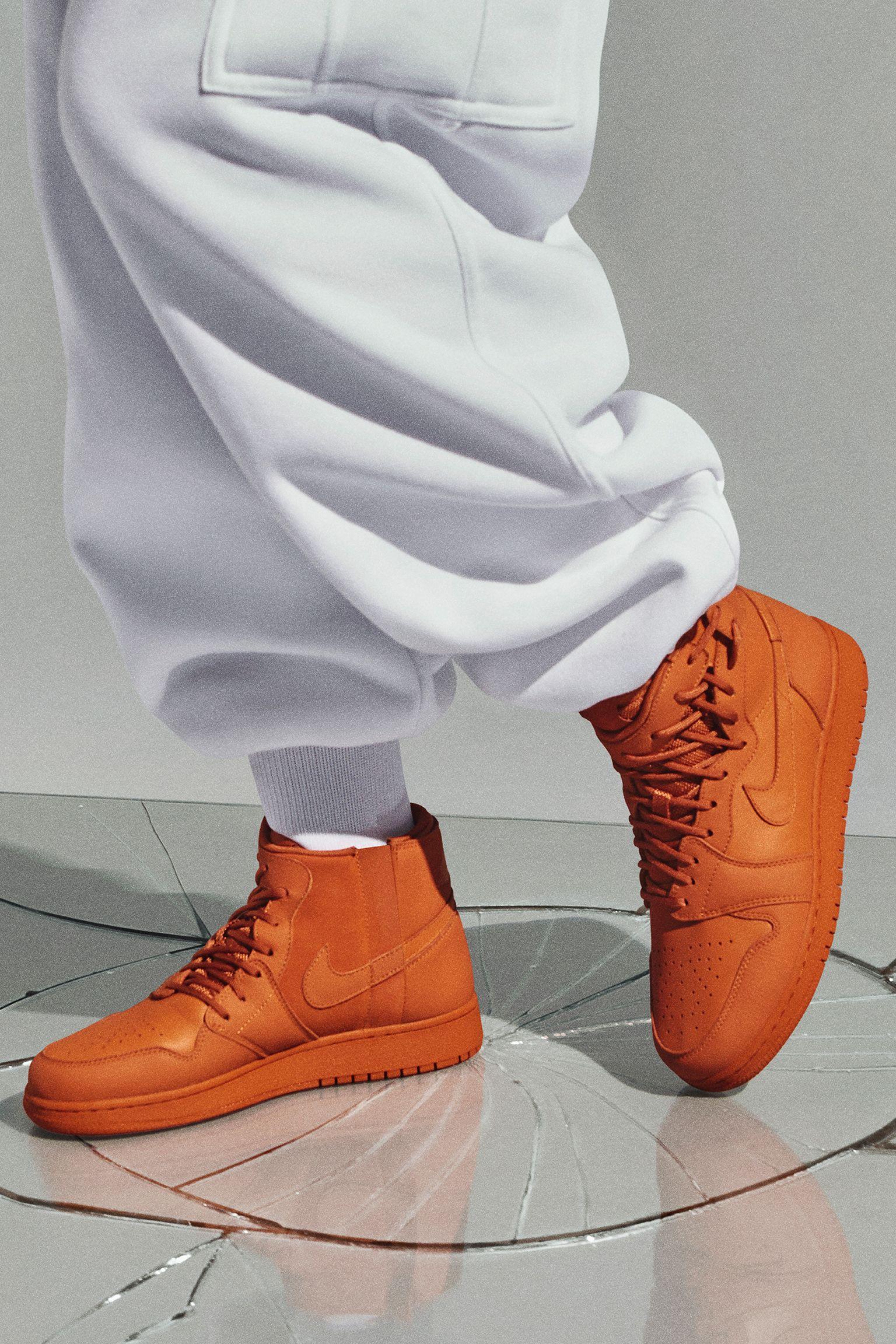 d5a01679368c6e 女款Nike Air Jordan 1 Rebel XX  Cinder Orange  发布日期. CN