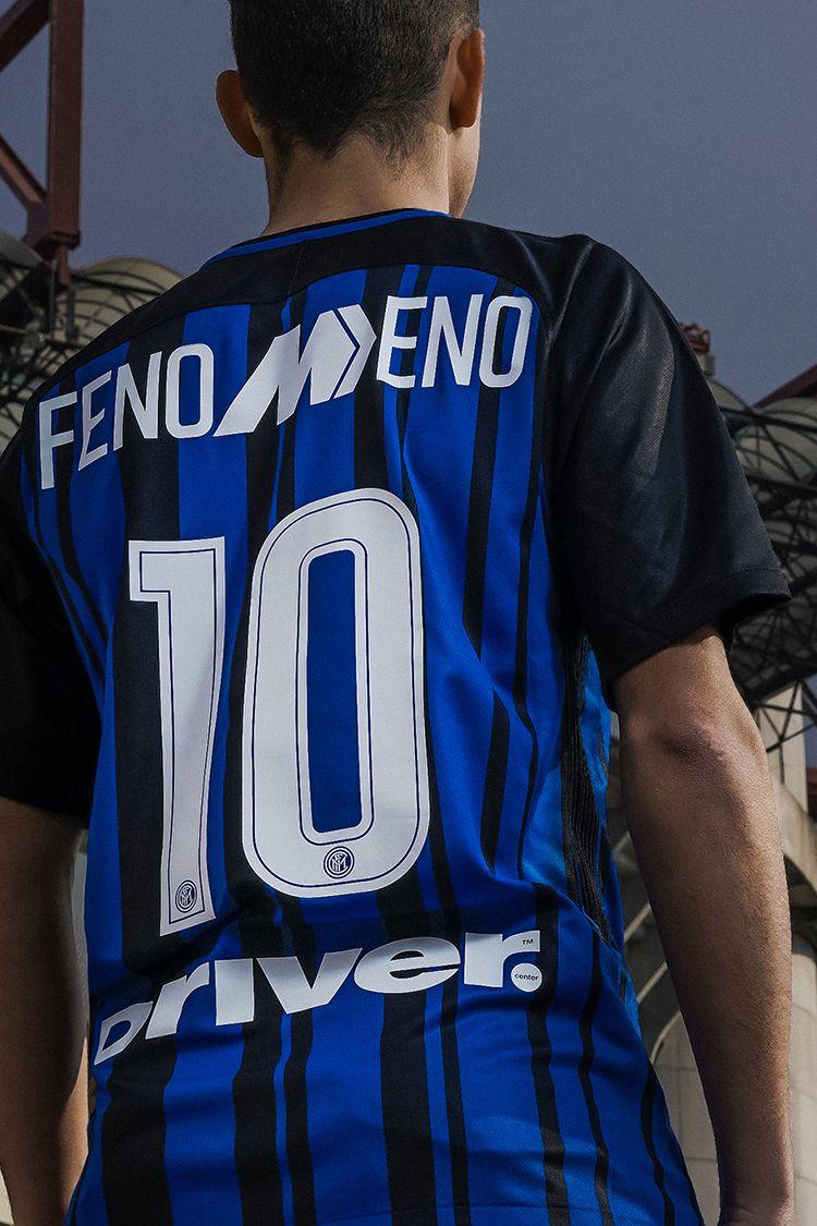2017-2018 Inter Milan Fenomeno Limited Edition Stadium Home Kit