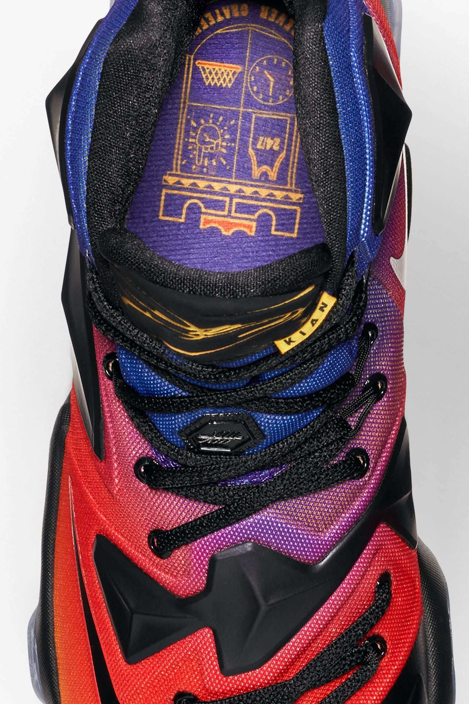bbe2d4681336 ... official store nike lebron 13 doernbecher laser orange court purple  da15c 85353