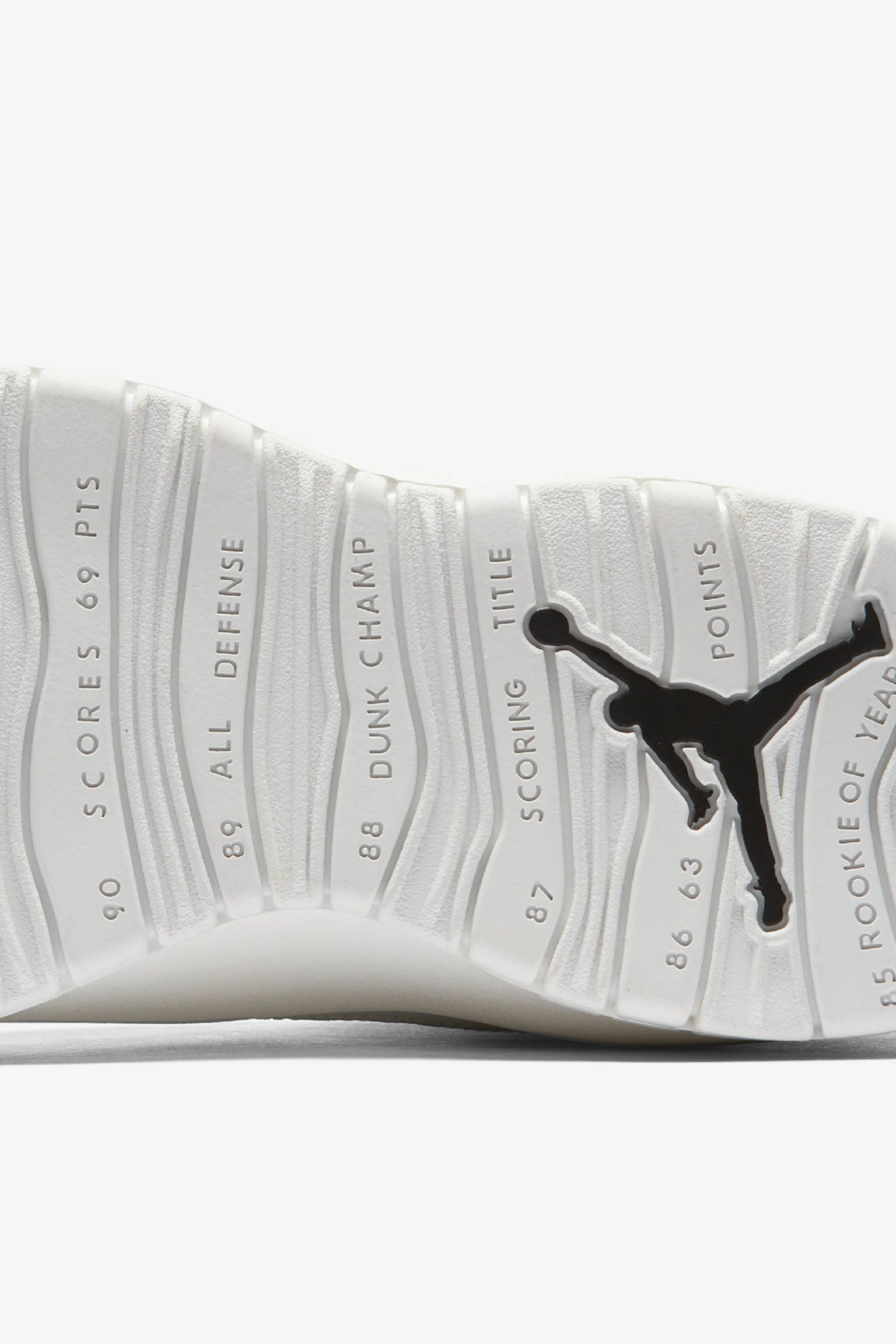 Air Jordan 10 Retro 'Summit White & Black' Release Date