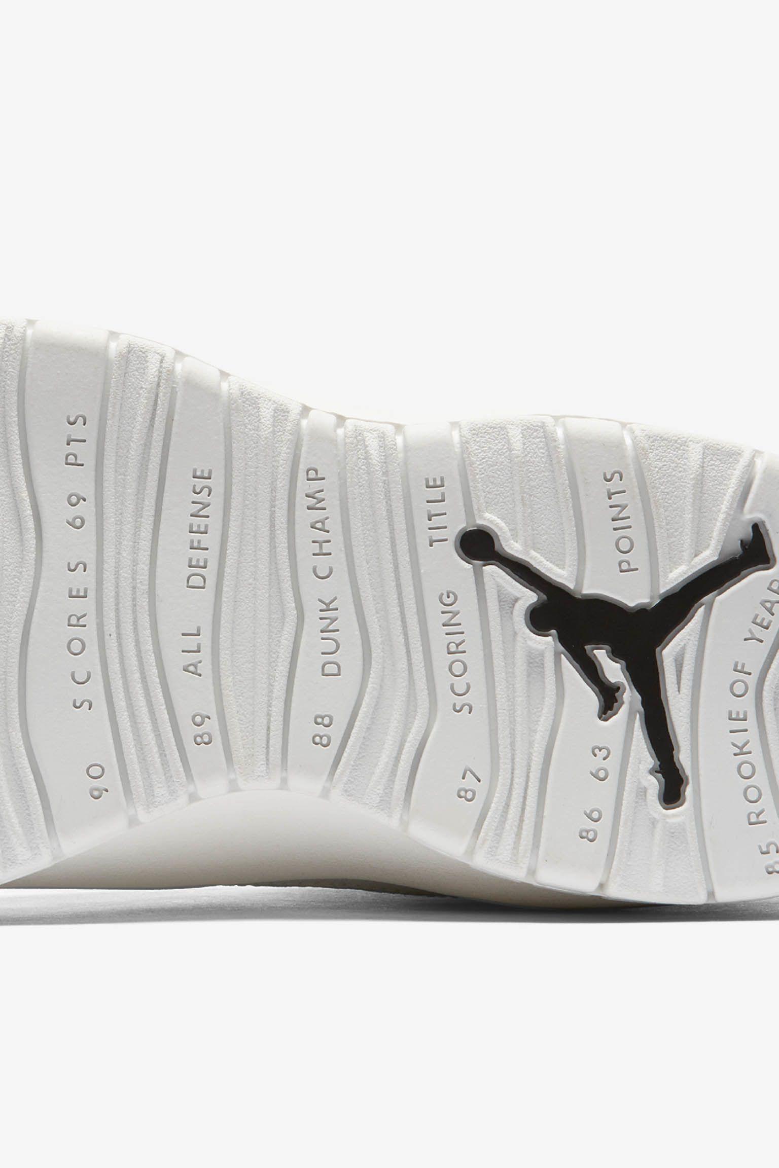 best sneakers ea327 03e0c Air Jordan 10 Retro  Summit White   Black  ...