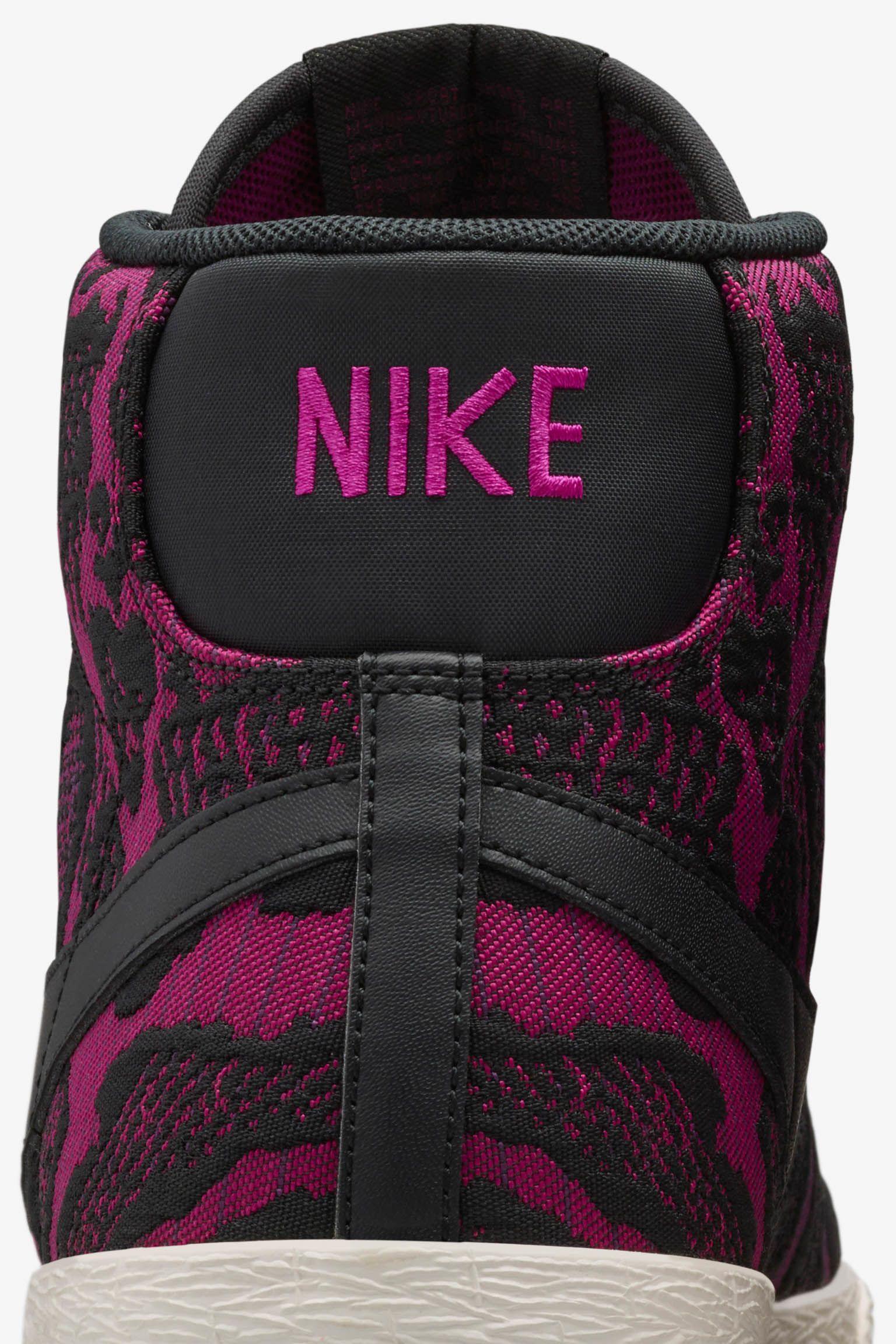 Women's Nike Blazer Mid Jacquard 'Mulberry & Fuschia Flash'