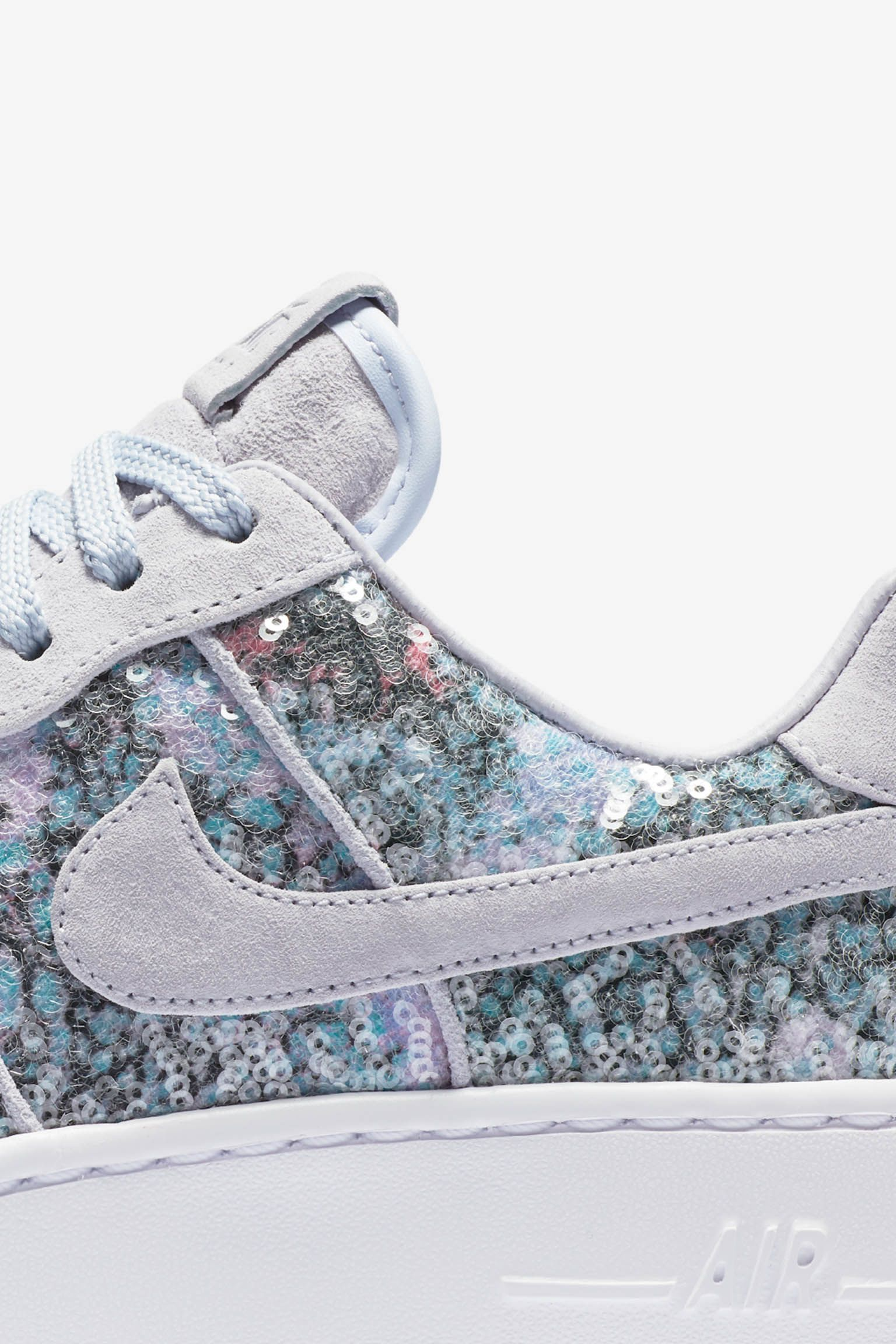 Women's Nike Air Force 1 Upstep Low 'Palest Purple'
