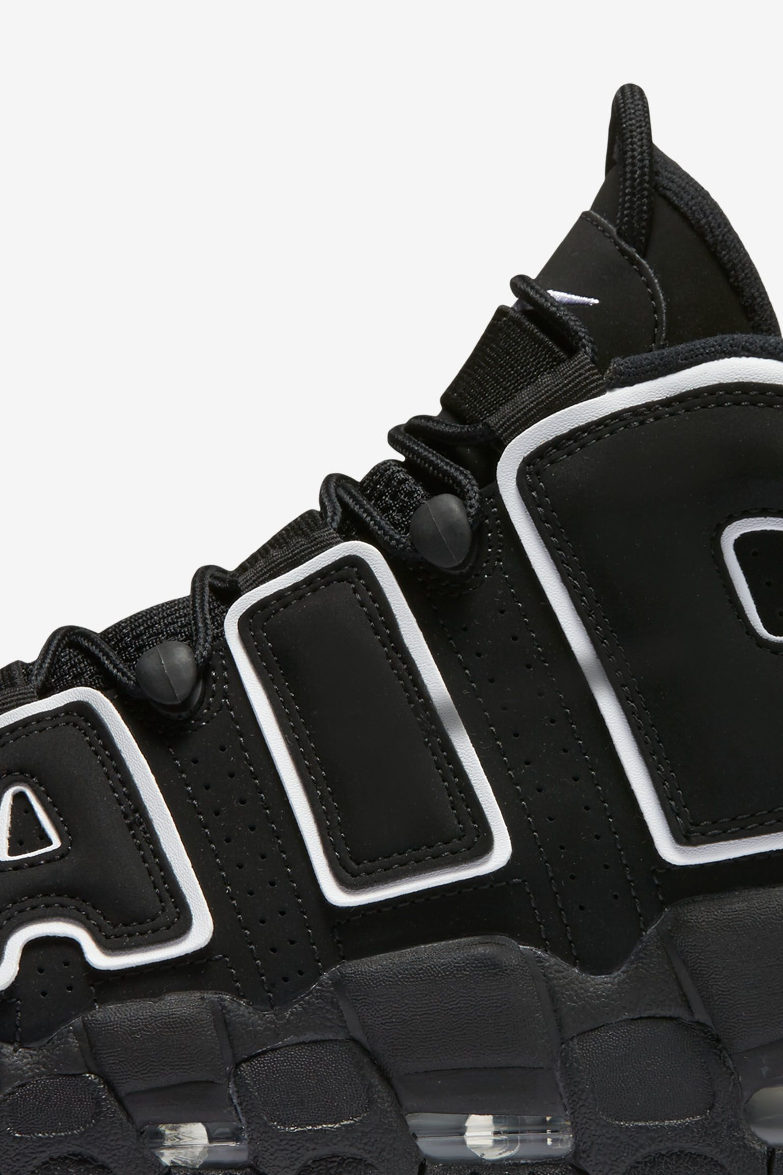 Nike Air More Uptempo 'Black & White' Release Date