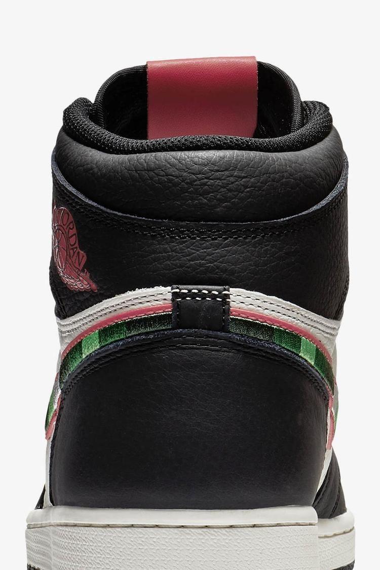 Air Jordan 1 SI 'Black & Sail & Varsity Red' Release Date