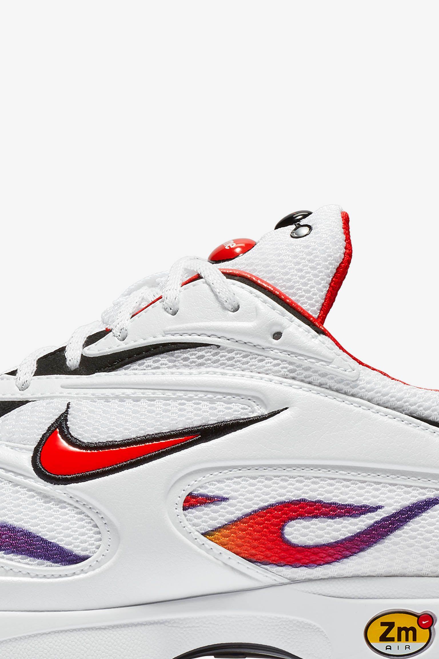 【NIKE公式】ナイキ ズーム ストリーク スペクトラム プラス x シュプリーム 'White & Habanero Red' (AQ1279-100 / Zoom Streak Spectrum Plus Supreme)