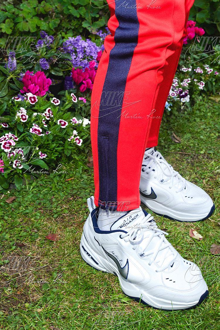 Nike Air Monarch 4 Martine Rose  White  Release Date. Nike+ Launch NL b3e4130fc