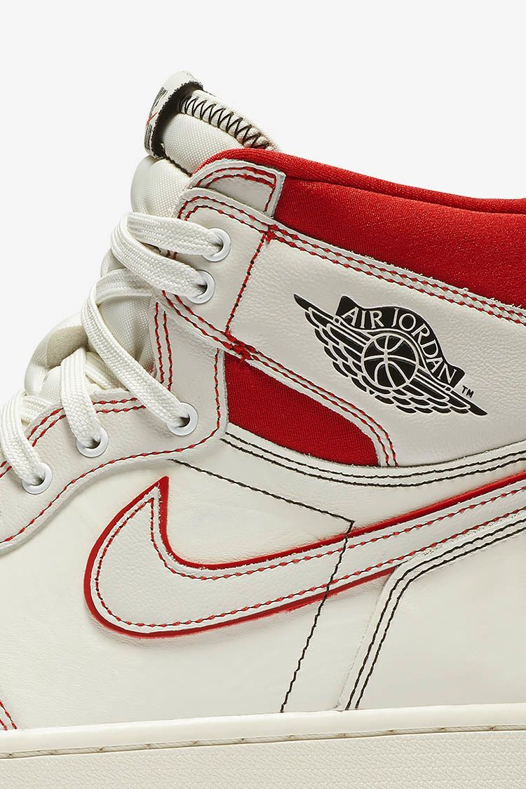 Air Jordan I 'High Sail & Phantom & University Red' Release Date