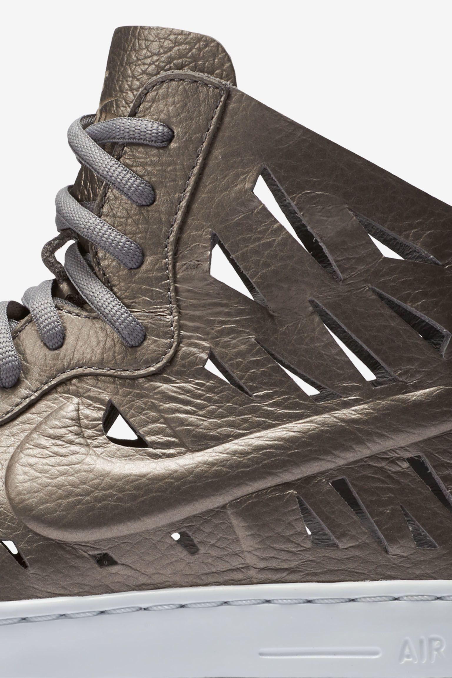 Women's Nike Air Force 1 Ultra Mid Joli 'Metallic Pewter'