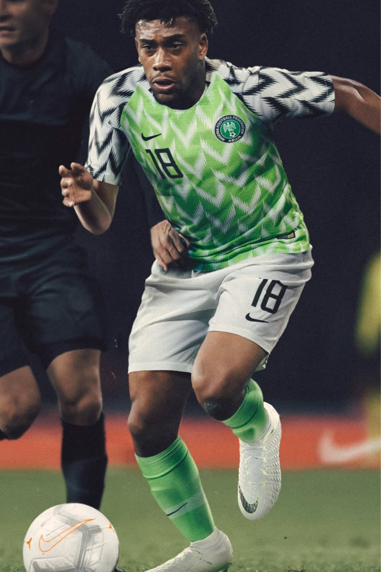 2018 Nigeria Stadium Home Kit. Nigeria National Football Team 3093f4c16