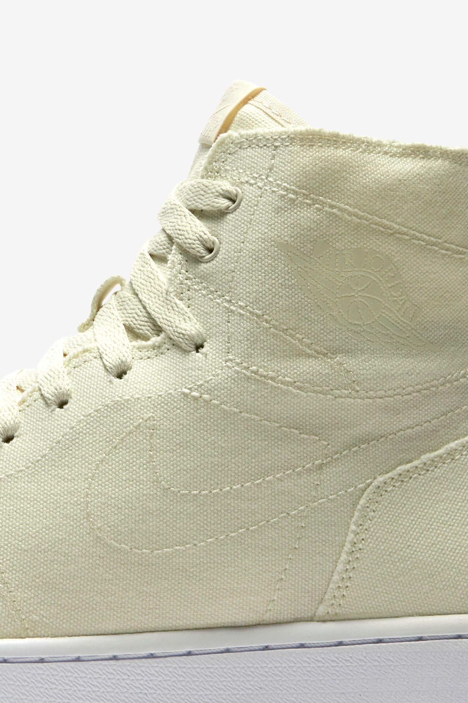 Air Jordan 1 Retro 'Deconstructed Ivory' Release Date