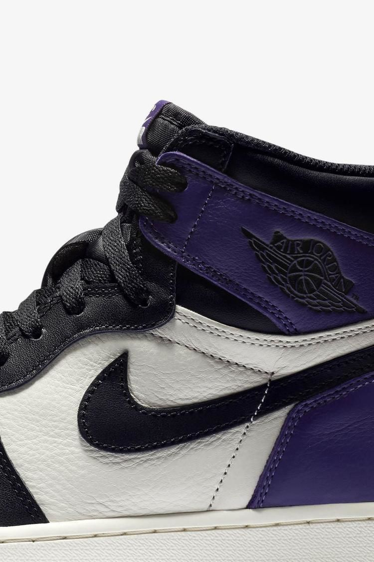 Air Jordan 1 Retro  Court Purple  Release Date. Nike+ SNKRS 407ad829e122