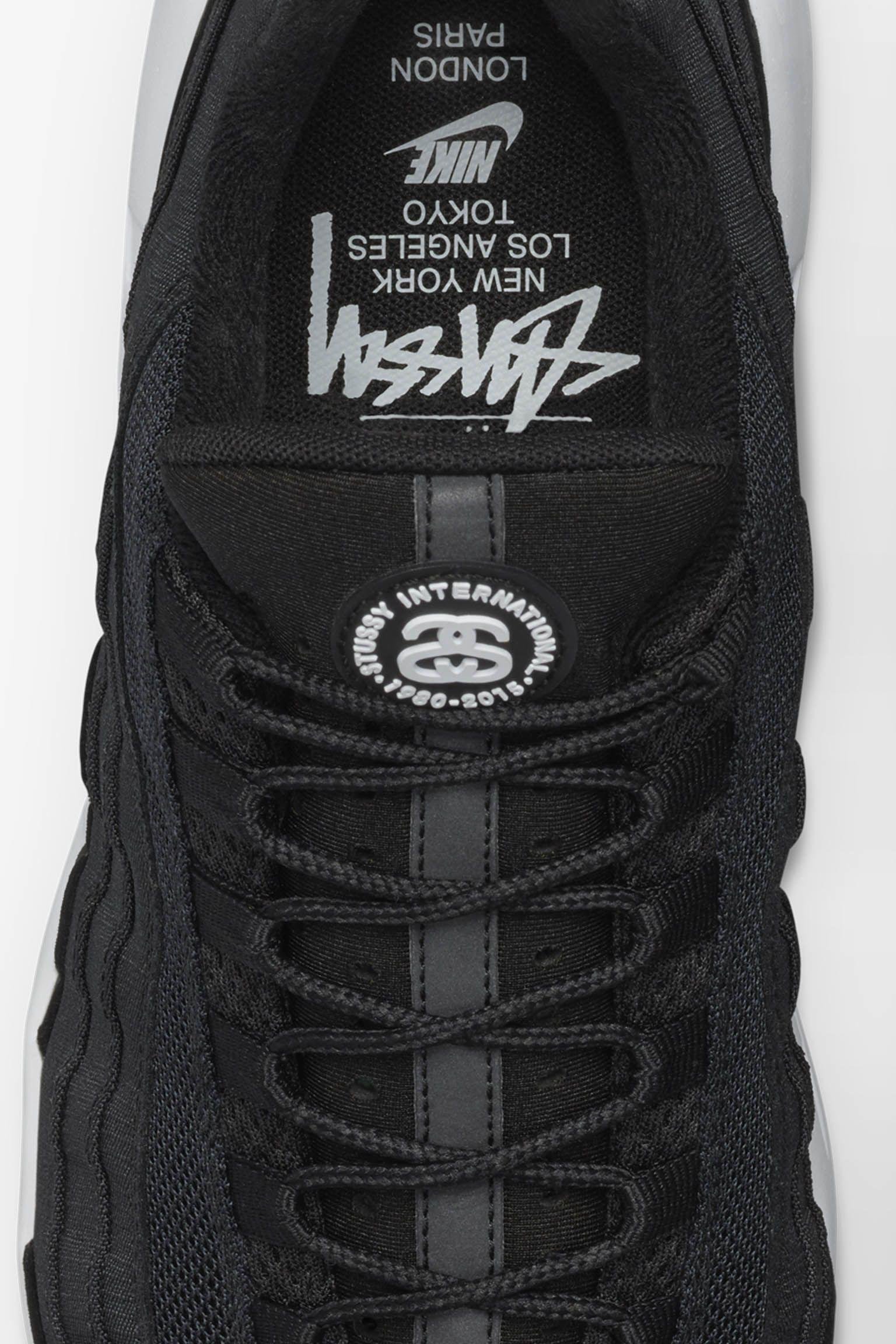 Nike Air Max 95 Stussy 'Black & White'