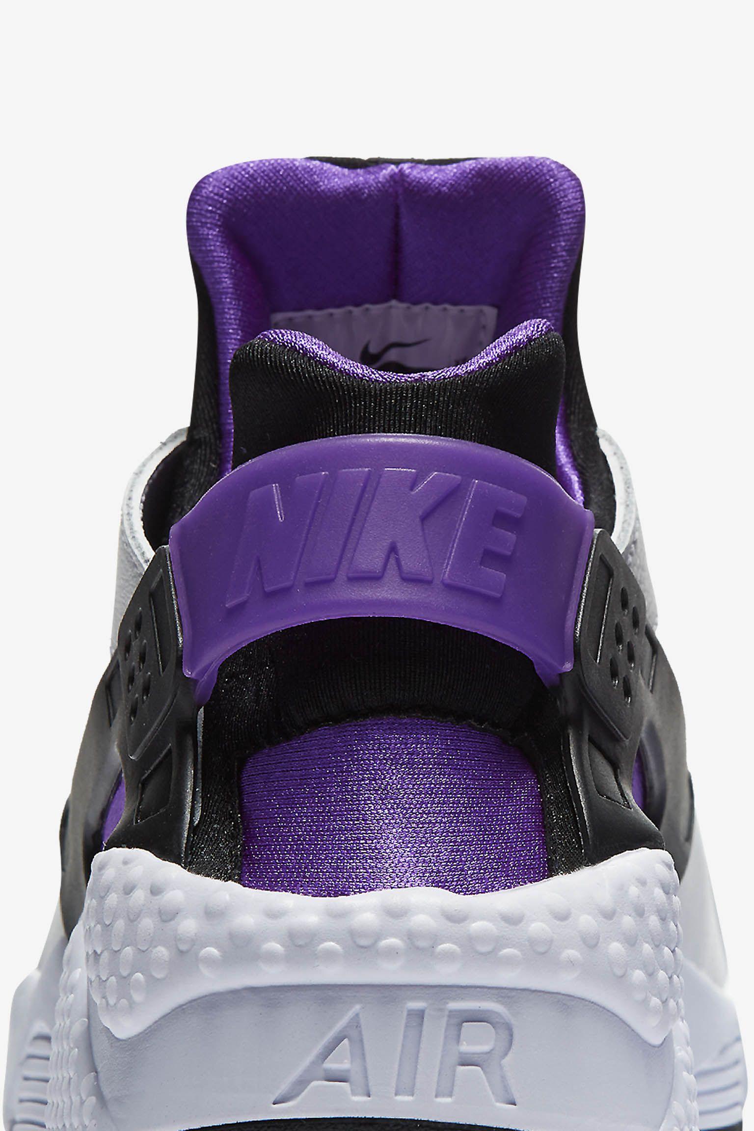 Nike Air Huarache Run '91 'White & Purple Punch' Release Date