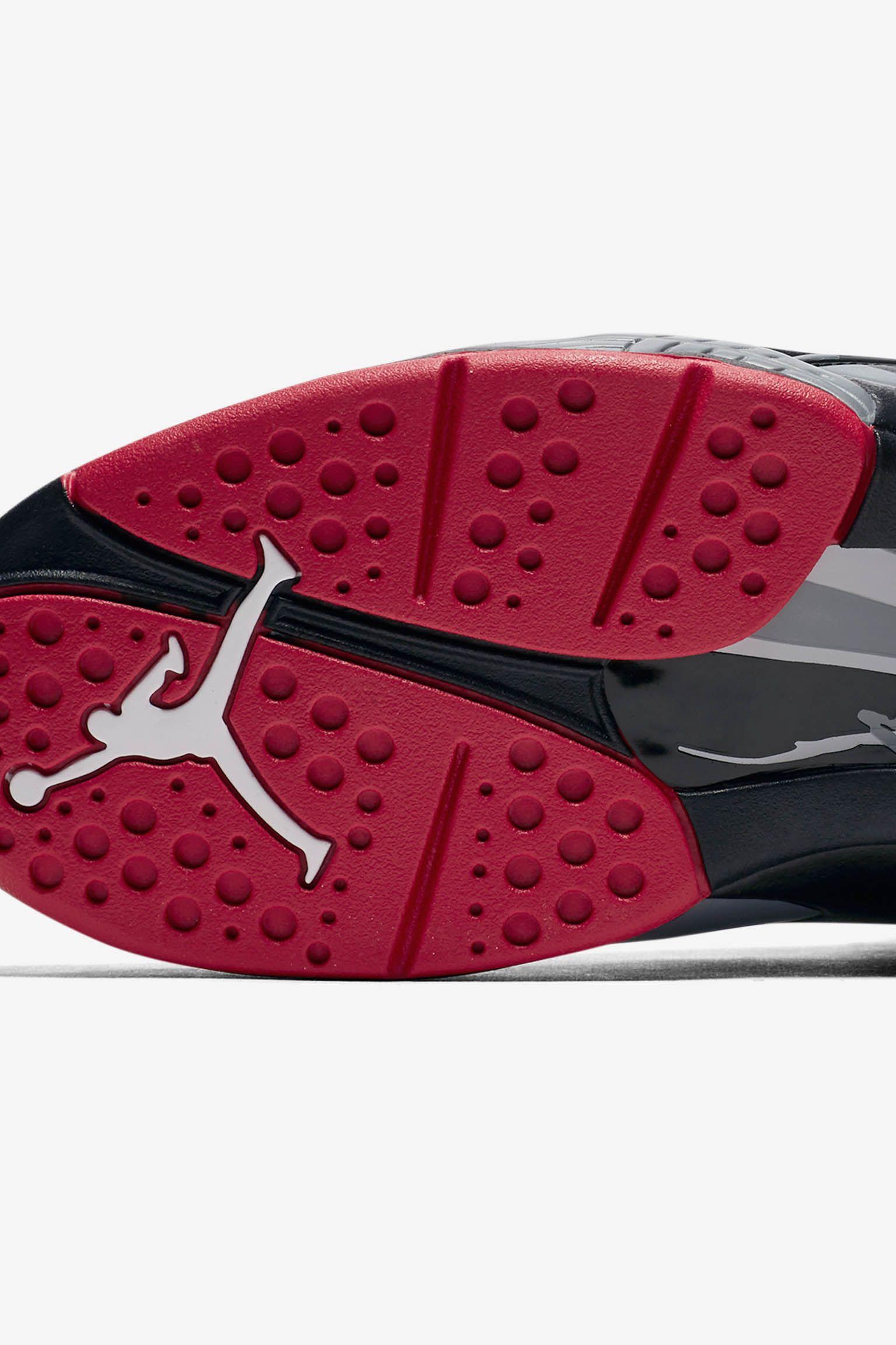 c37ac7780ad Air Jordan 8 Retro  Black  amp  Gym Red  Release Date. Nike+ Launch GB
