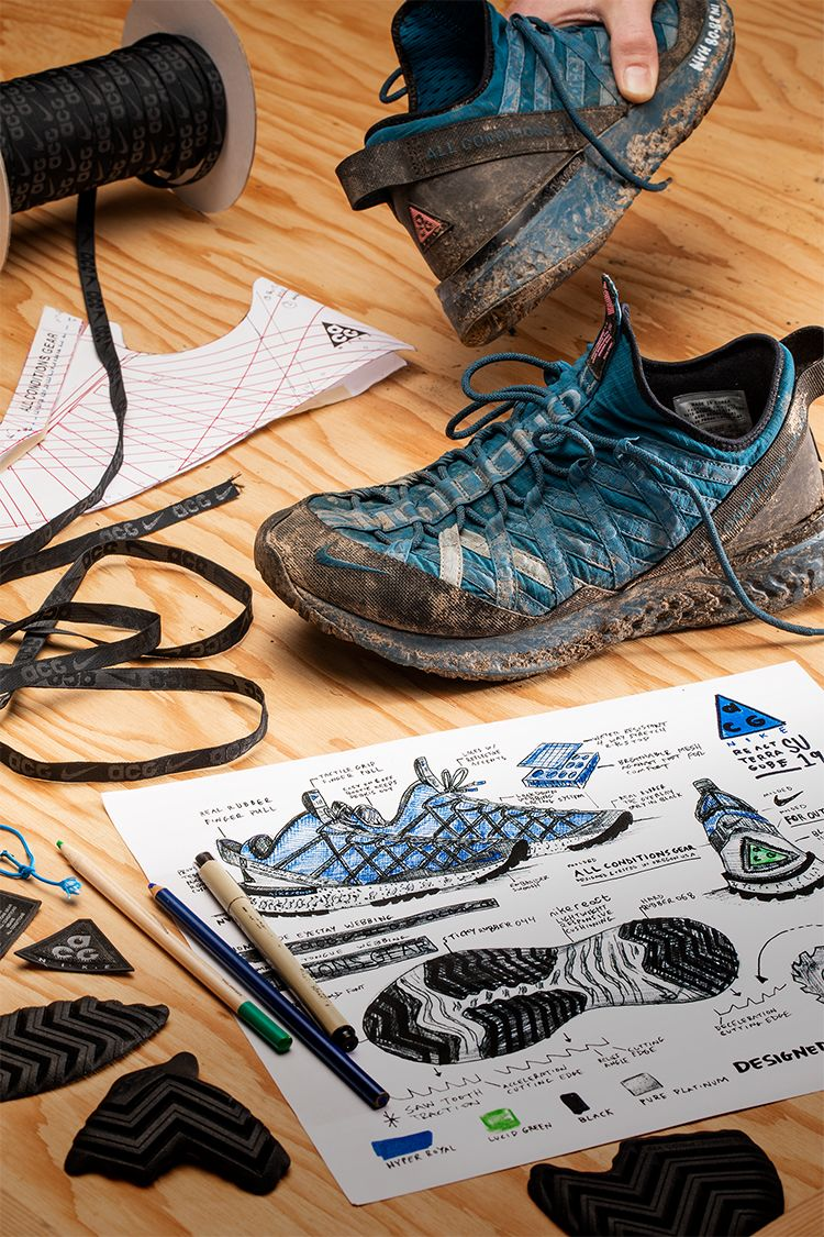 Behind the Design: Nike ACG React Terra Gobe