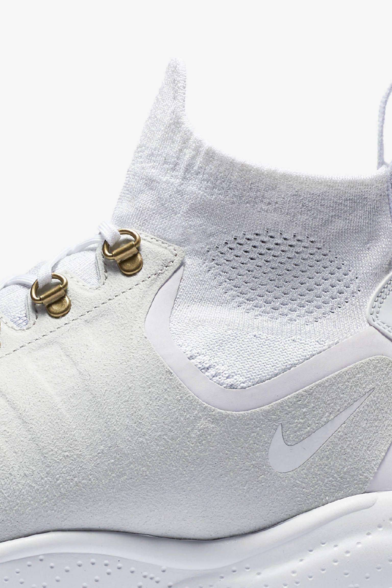 Nike Air Zoom Talaria Mid Flyknit 'White'