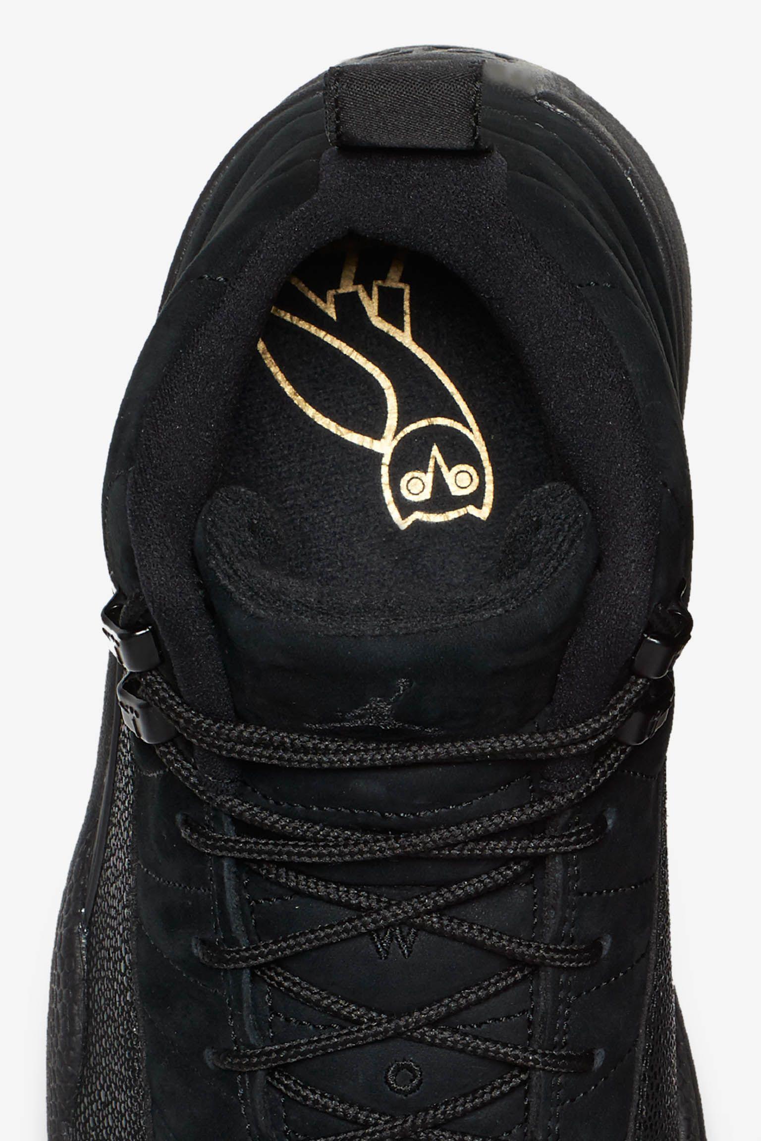 Air Jordan 12 Retro OVO 'Black & Metallic Gold'