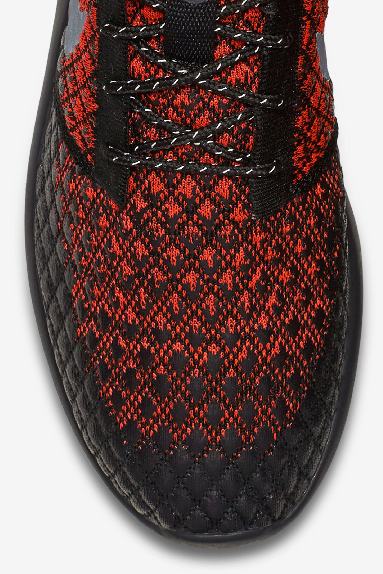 ナイキ ローシ ツー フライニット 365 'Bright Crimson & Black'