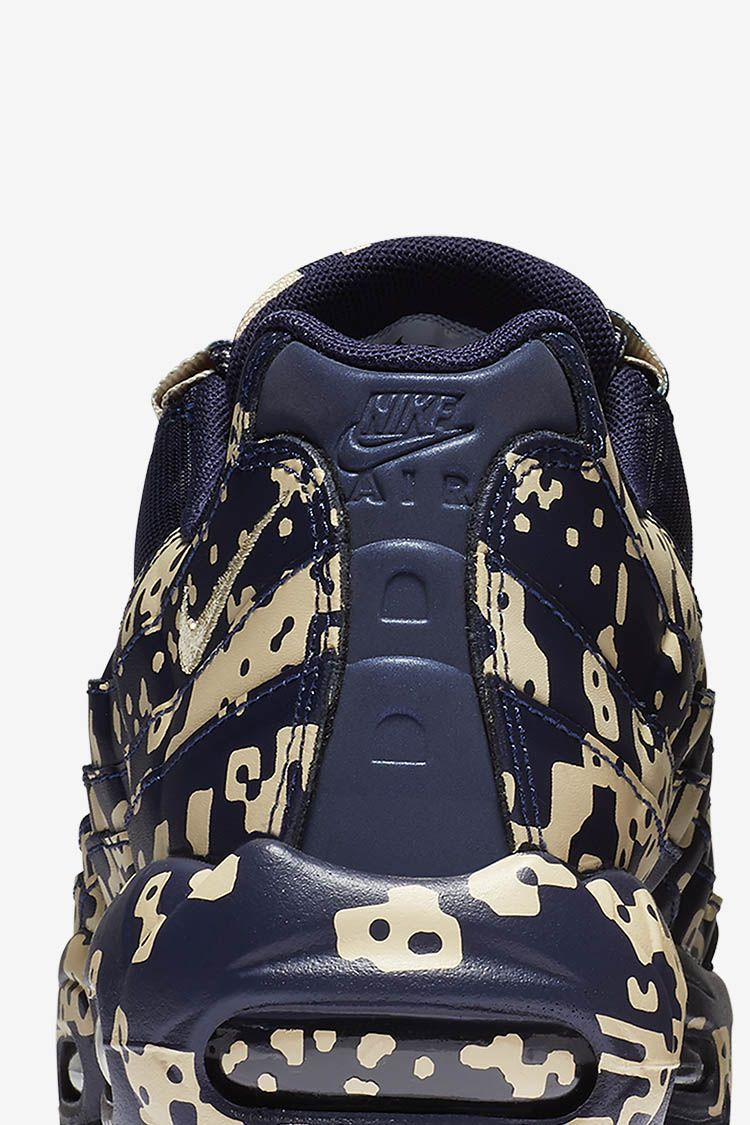 Nike Air Max 95 Cav Empt 'Blackened Blue' Release Date