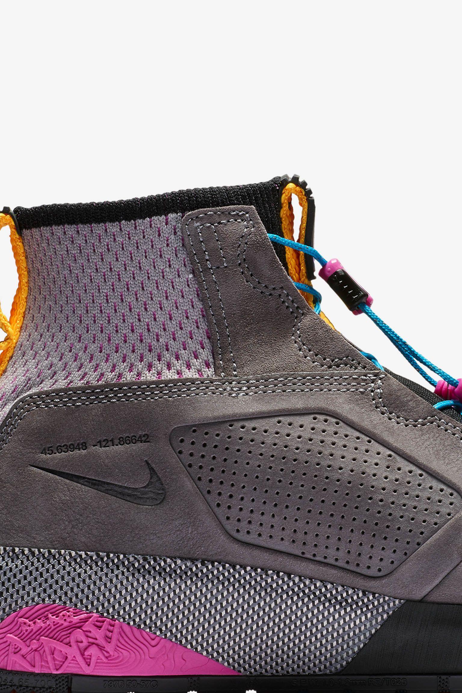 Nike ACG Ruckel Ridge 'Gunsmoke & Atmosphere Grey' Release Date