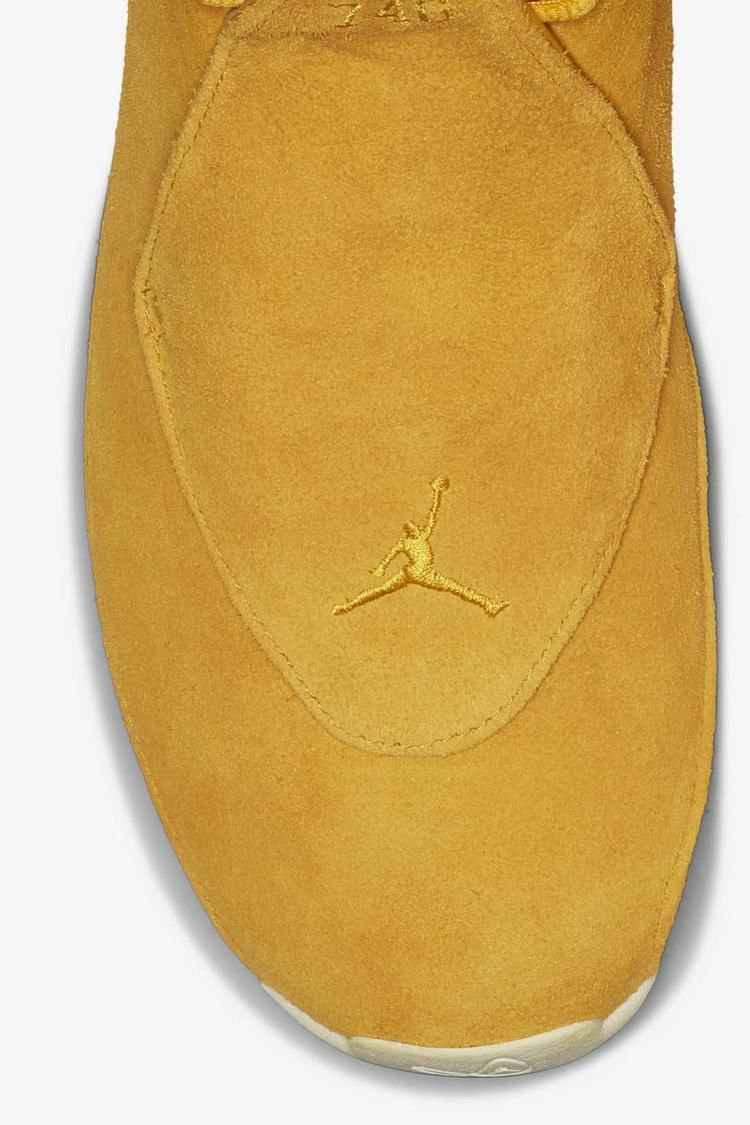 Air Jordan 18 'Yellow Ochre & Sail' Release Date
