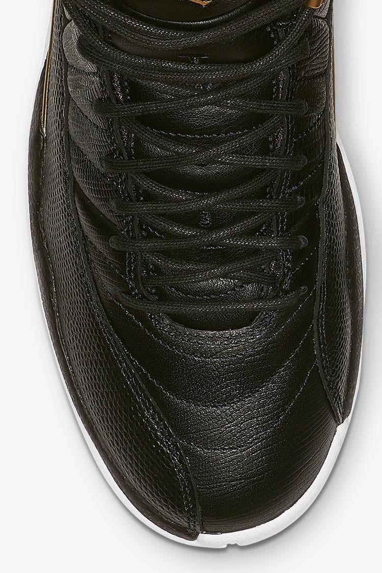 Women's Air Jordan 12 'Midnight Black' Release Date