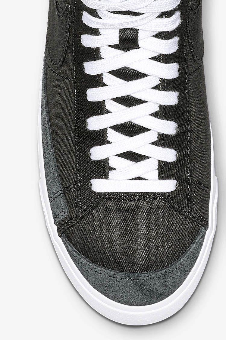 Nike Blazer Mid '77 'Black Canvas' Release Date