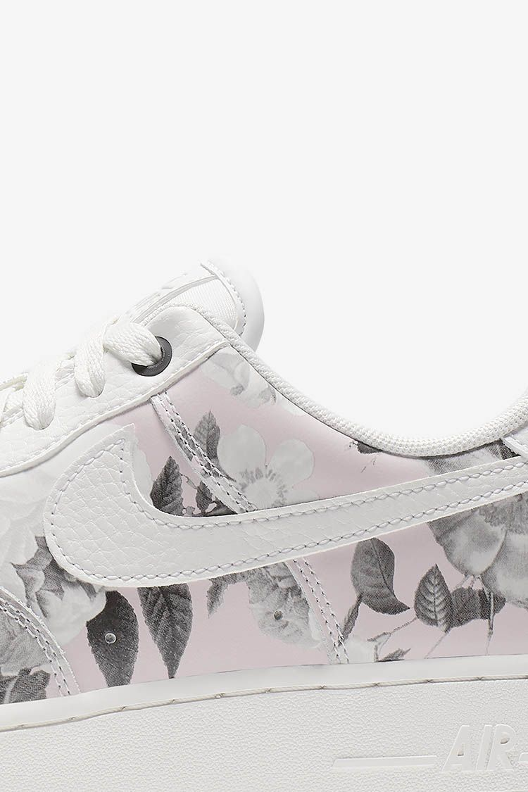 Nike Women's Air Force 1 Floral 'White' Release Date