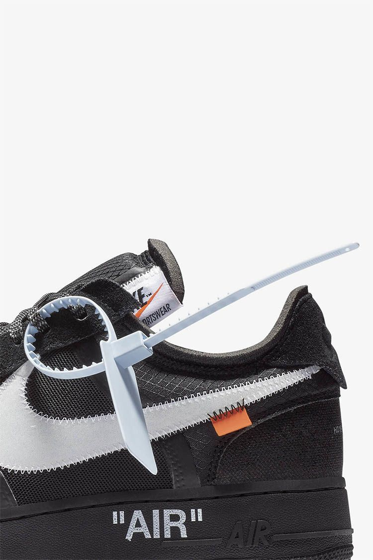 The 10: Nike Air Force 1 Low 'Black & Cone & White' Release Date